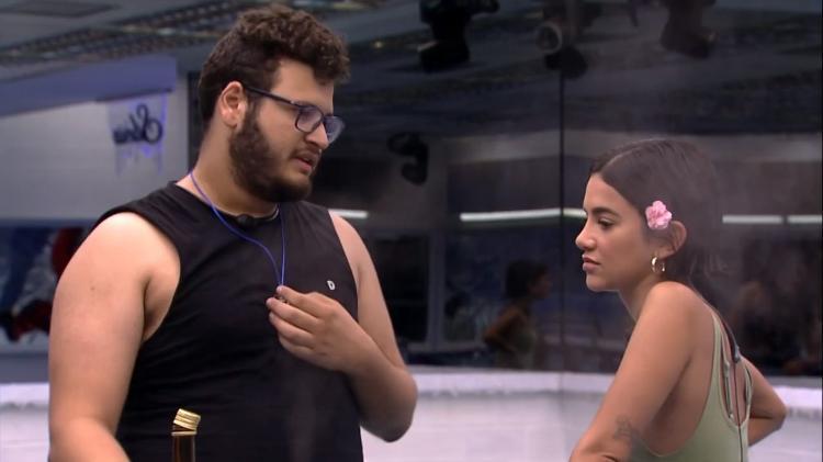 Victor Hugo fala sobre a briga com Manu Gavassi (Reprodução/ Globoplay)