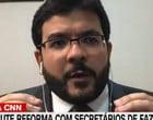 Fonteles diz que Brasil tem manicômio tributário e pauta simplificação