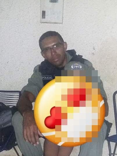 Policial Militar foi esfaqueado durante o assalto em Floriano (Reprodução/ Meio Norte)