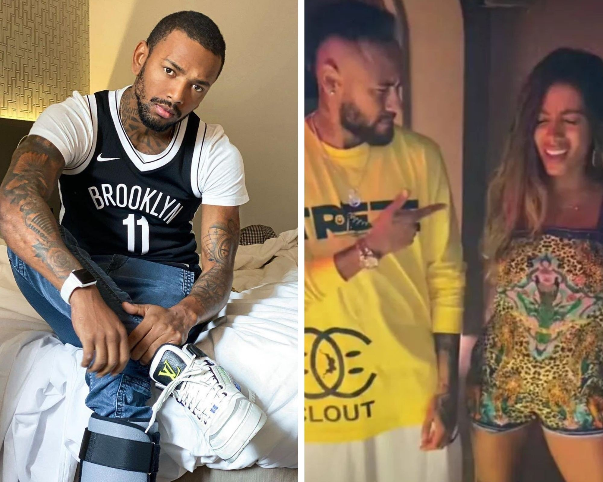 Nego do Borel lamenta falta de convite de Anitta e Neymar para Ibiza