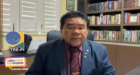 Presidente do TRE-PI José James Gomes(Divulgação)