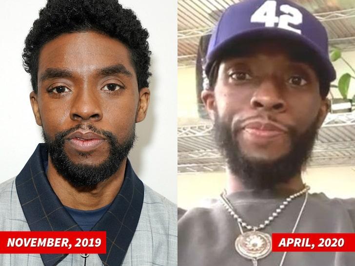 """Chadwick Boseman, estrela do """"Pantera Negra"""", morre aos 42 anosChadwick Boseman, estrela do """"Pantera Negra"""", morre aos 42 anos"""