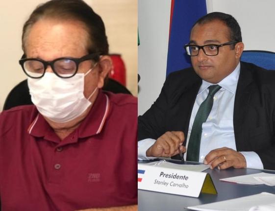prefeito Wagner Coelho e vereador Stanley Carvalho