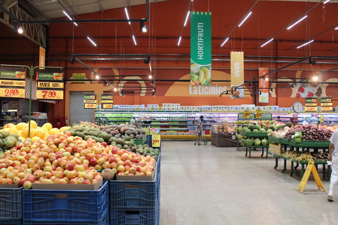 Supermercados estão autorizados a funcionar nos sábados em Teresina - Foto: Raíssa Morais