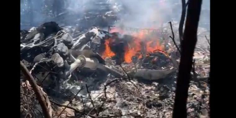 Avião cai na zona rural de Teresina e piloto morre; vídeos!