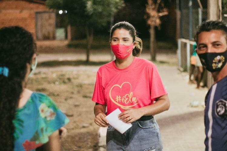 Pré-candidata a vereadora de Teresina, Tatiana Medeiros - Foto: Ascom