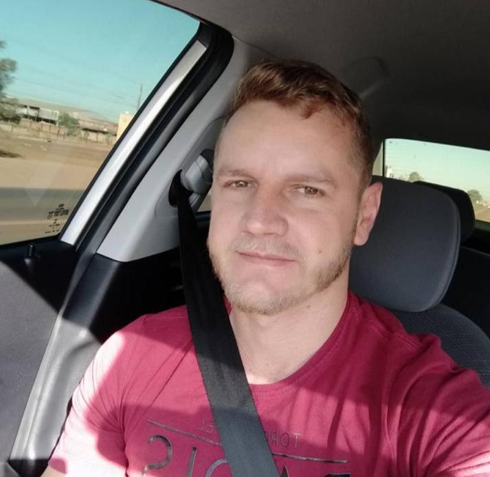 Piloto Leandro Holdefer, vítima da queda da aeronave Bonanza PT AFN na zona sudeste de Teresina