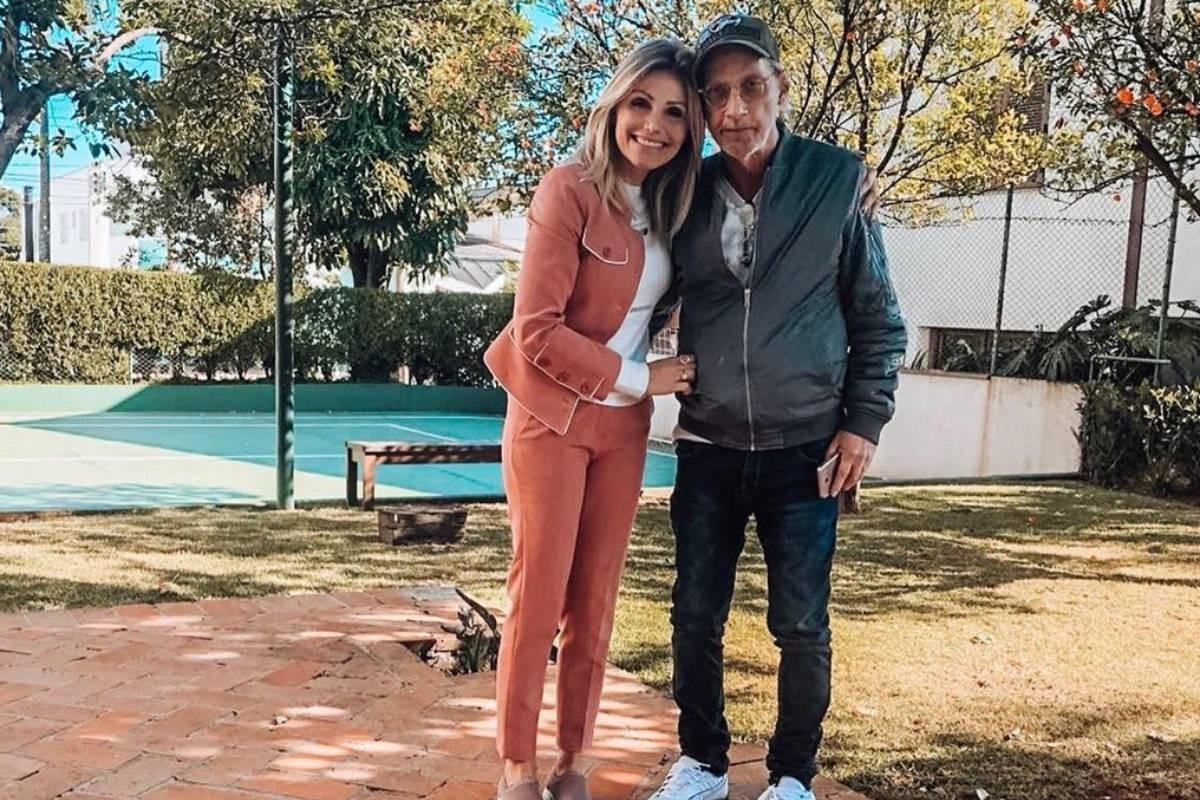 Thaís e Arnaldo Saccomani