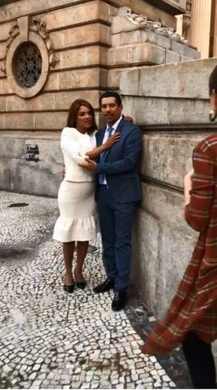 Flordelis fez ensaio romântico com pastor Anderson Do Carmo