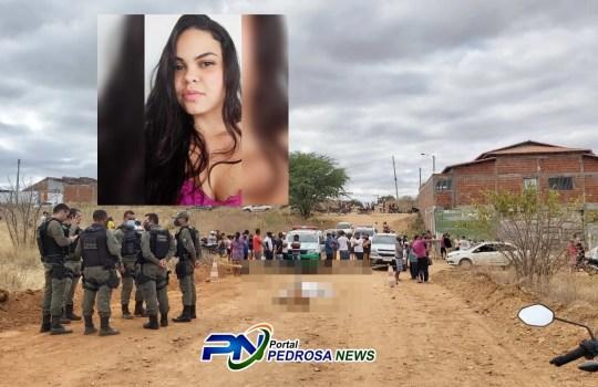 Feminicídio deixou a população de Paulistana em choque- Foto: Reprodução/Portal Pedro News