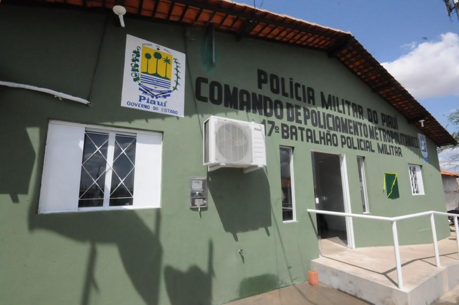 Policiais do 17º BPM de Teresina atenderam a ocorrência - Foto: Divulgação