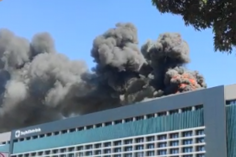 Incêndio no Hospital Santa Luzia em Brasília