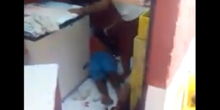 Imagens fortes: vídeo mostra homem sendo esfaqueado em briga no Piauí