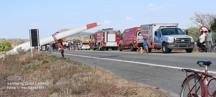 Acidente mobilizou bombeiros do município