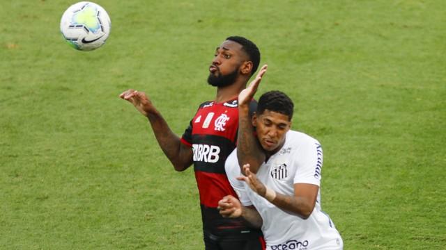 Santos x Flamengo - Vila Belmiro - Brasileirão 2020 (Foto: Ricardo Moreira/ Fotoarena/ Estadão Conteúdo)