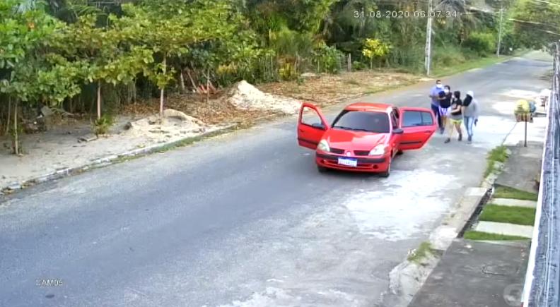 Mãe e filha são sequestradas durante caminhada em Teresina - Imagem 1