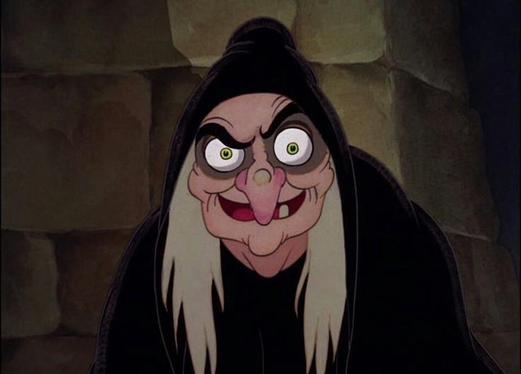 Bruxa da Branca de Neve. Crédito: Walt Disney.
