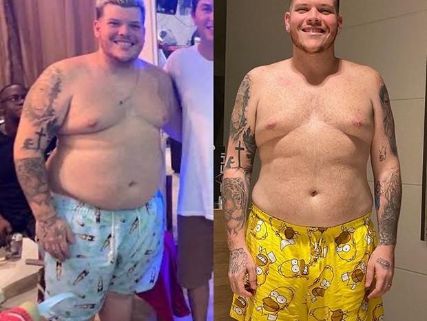 Antes e depois do Ferrugem