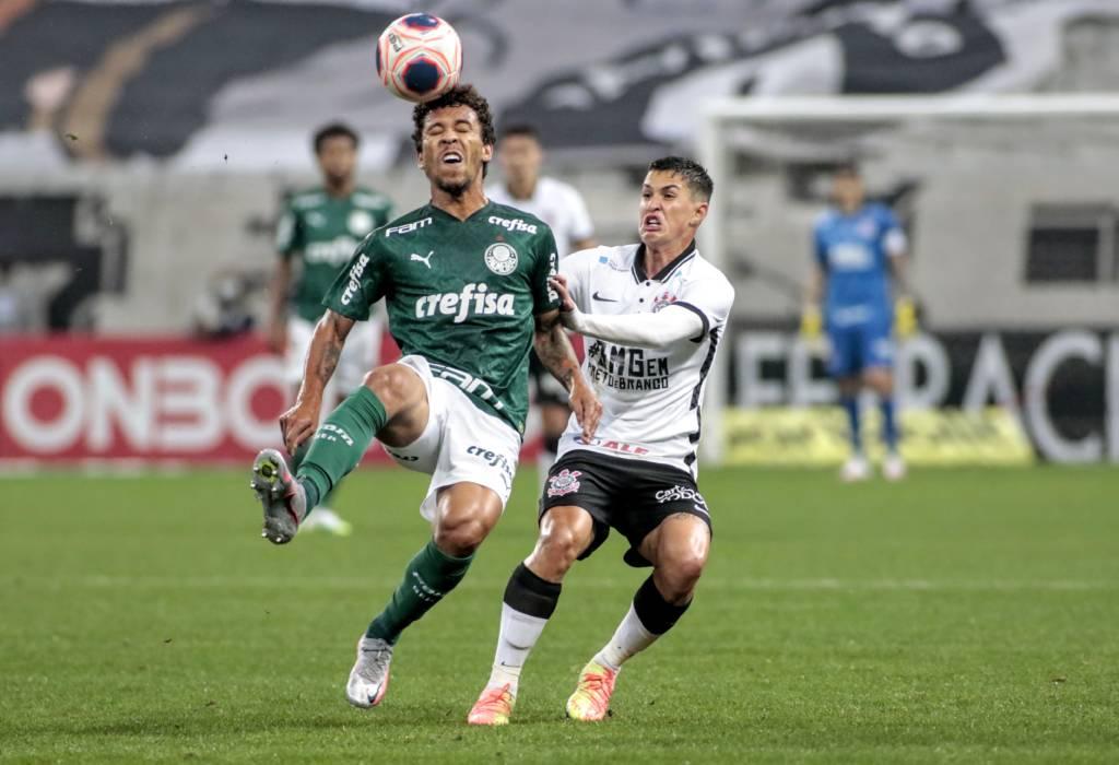 Corinthians e Palmeiras empatam em 0 a 0 no 1º jogo da final Foto: Rodrigo Coca
