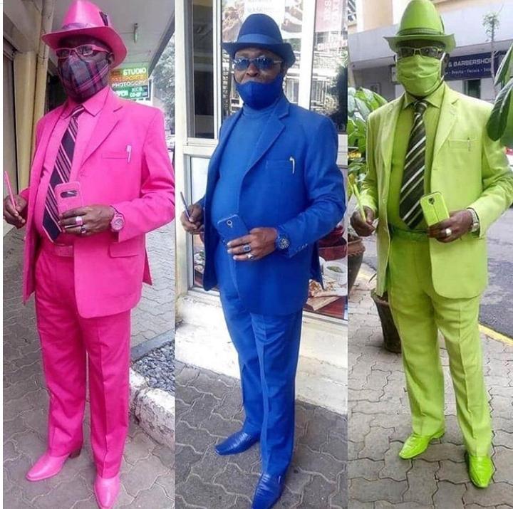 """Confira os trajes do """"homem mais fashion da África"""" durante a pandemia - Imagem 2"""