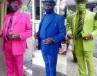 """Confira os trajes do """"homem mais fashion da África"""" durante a pandemia"""