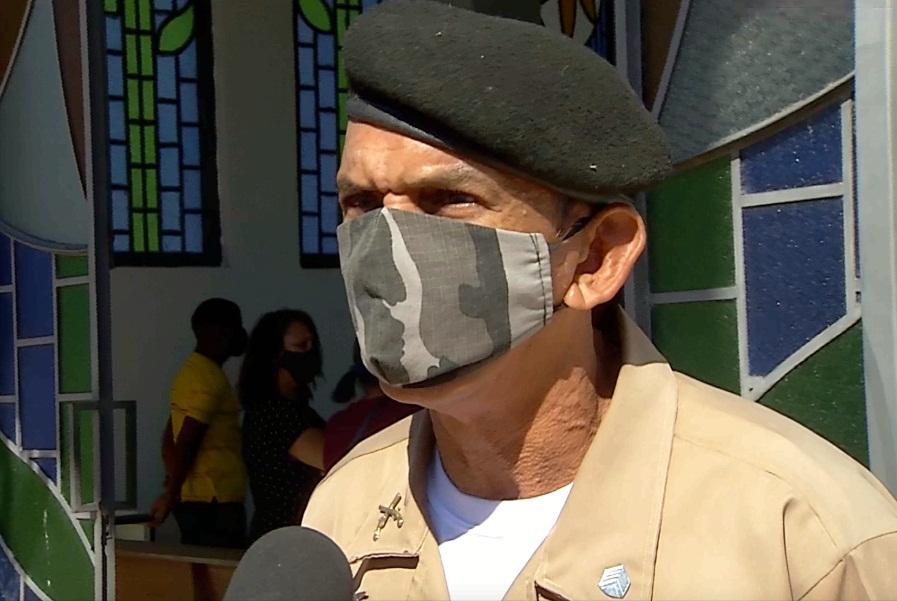 Sargento Teixeira se revolta com morte de policial