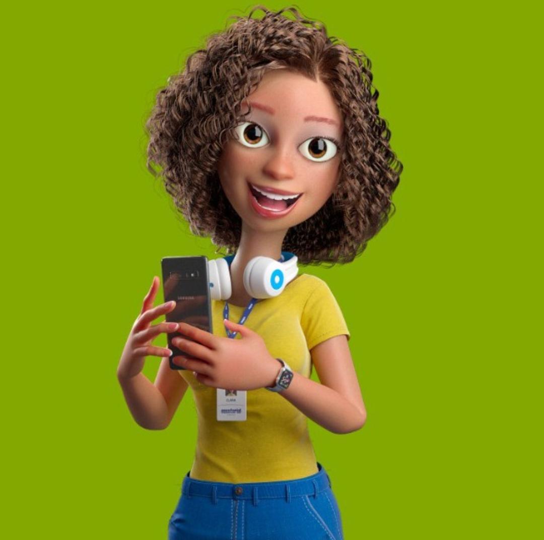 Clara, assistente virtual da Equatorial Piauí