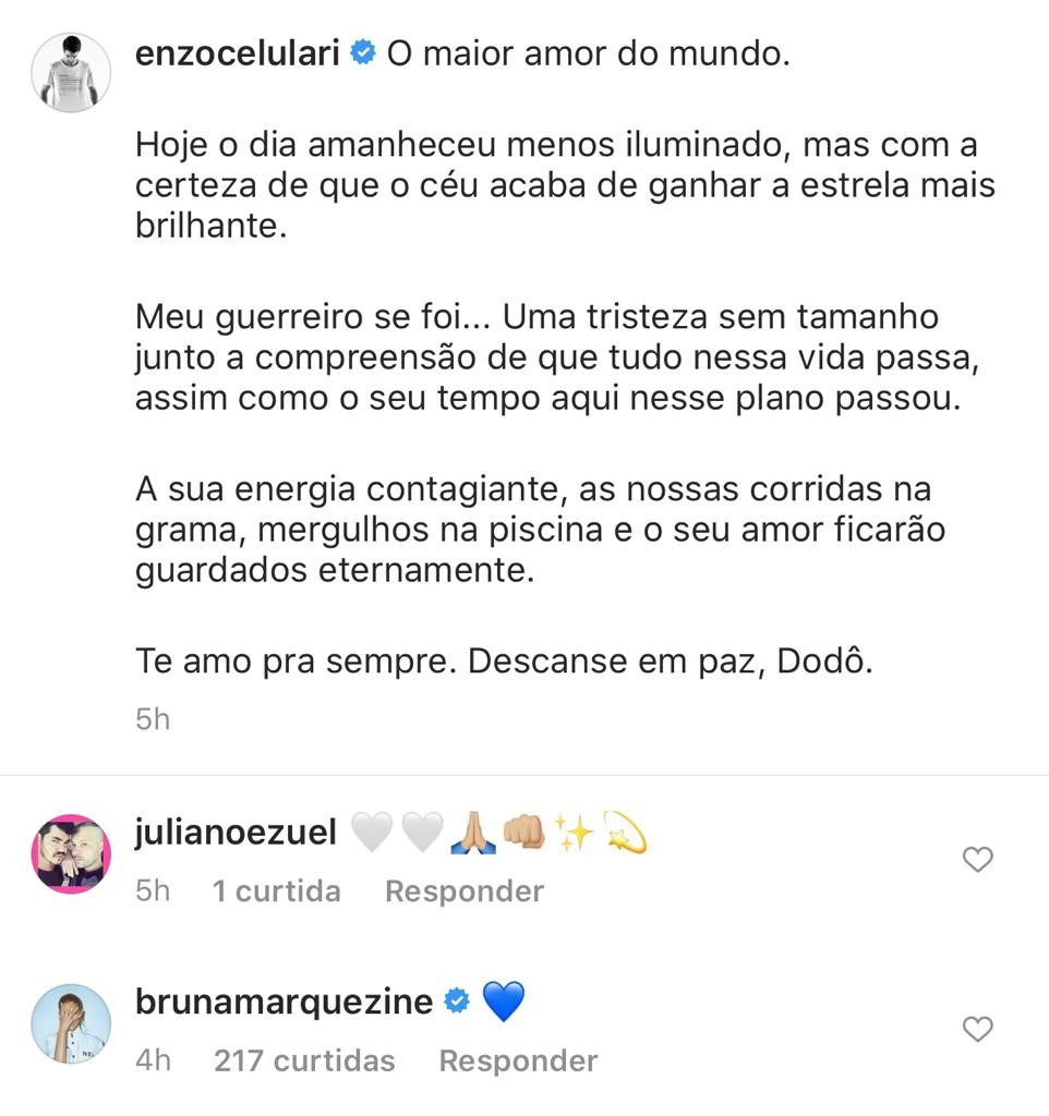 Marquezine deixa coração em post de Enzo Celulari e fãs shippam casal - Imagem 1
