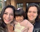Mayra Cardi homenageia Arthur Aguiar no Dia dos Pais