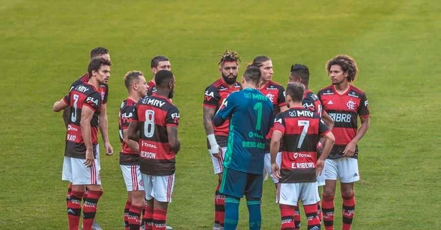 Image Flamengo sofreu os impactos da Covid-19 desde o início da pandemiacaption