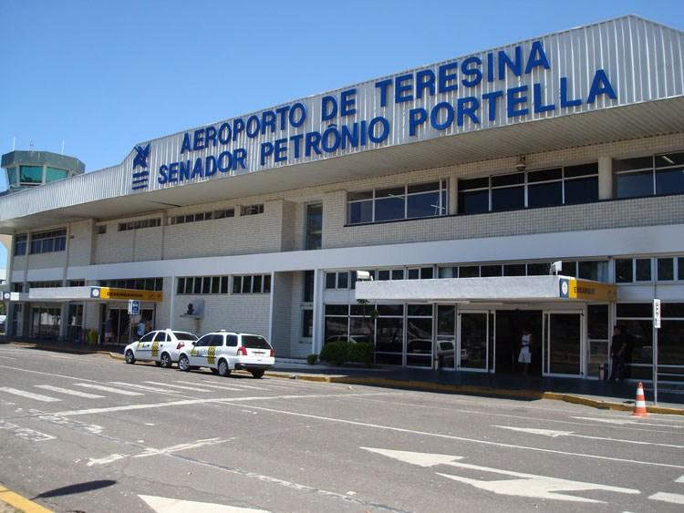 Aeroporto Senador Petrônio Portella em Teresina - Foto: Divulgação