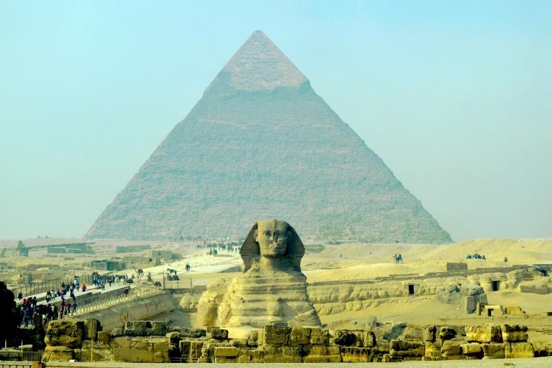 A Grande Pirâmide de Gizé (foto: Getty Images)