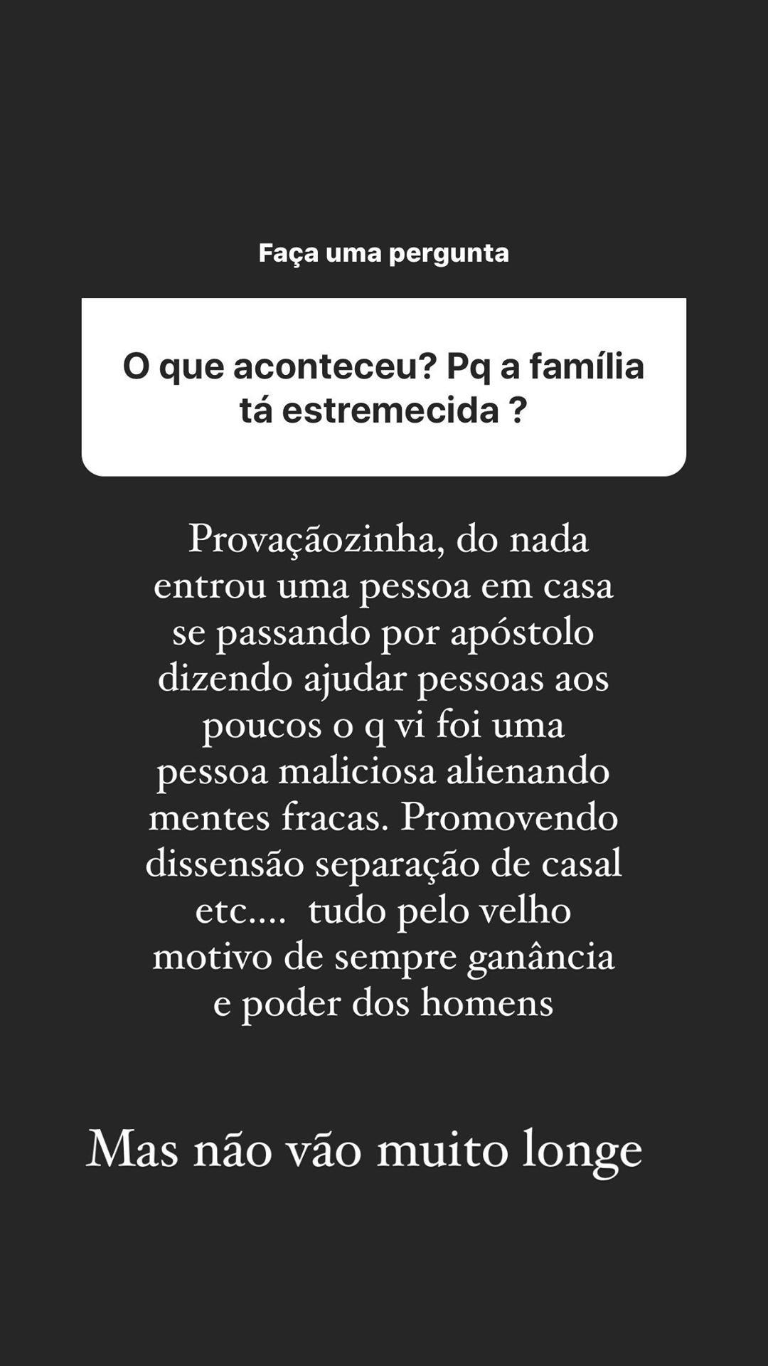 """Pastor Pôncio dá detalhes da briga com a família: """"Fui expulso"""" - Imagem 1"""