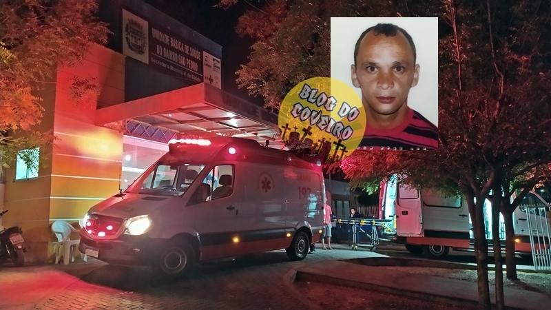 Lavrador ainda foi socorrido, mas morreu na UPA - Fotos: Reprodução/Blog do Coveiro