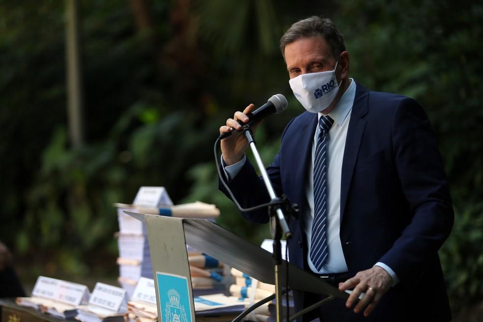 MP faz busca contra prefeito do Rio- Foto: WILTON JUNIOR/ESTADÃO CONTEÚDO