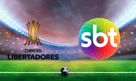 SBT assina contrato e vai transmitir Libertadores até 2022