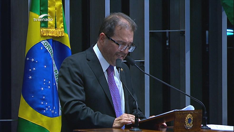 Senado Eduardo Benedito- Foto: TV Globo