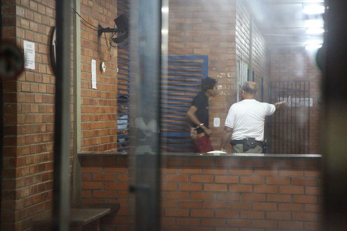 Condenado pelo envolvimento no estupro de castelo do Piauí foi preso em Teresina (Reprodução)