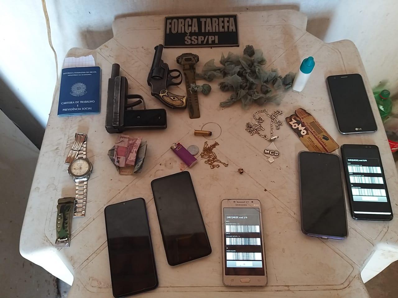Força Tarefa prende dois jovens acusados de tráfico em Teresina