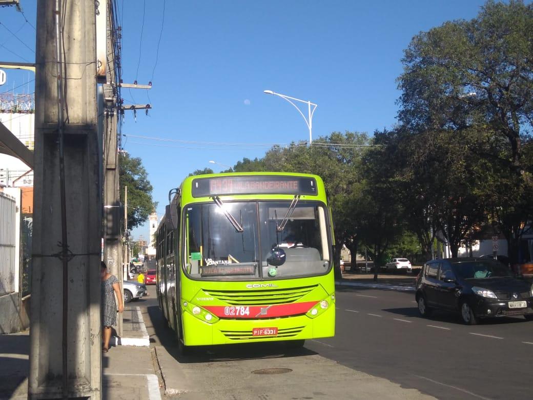 Transporte público segue com restrições / Crédito: Meio Norte