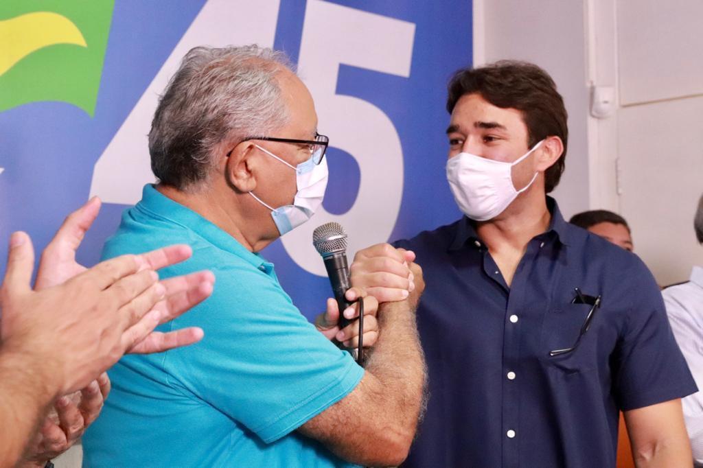 Pré-candidato Kleber Montezuma recebe apoio de Marden Menezes