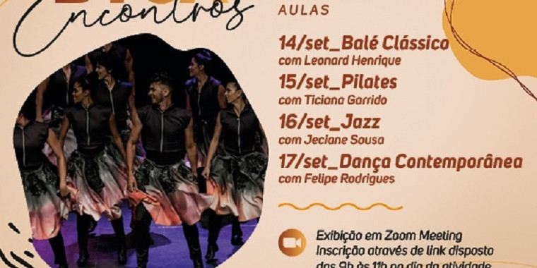 Balé da Cidade de Teresina compartilhará aula com Companhia da Bahia