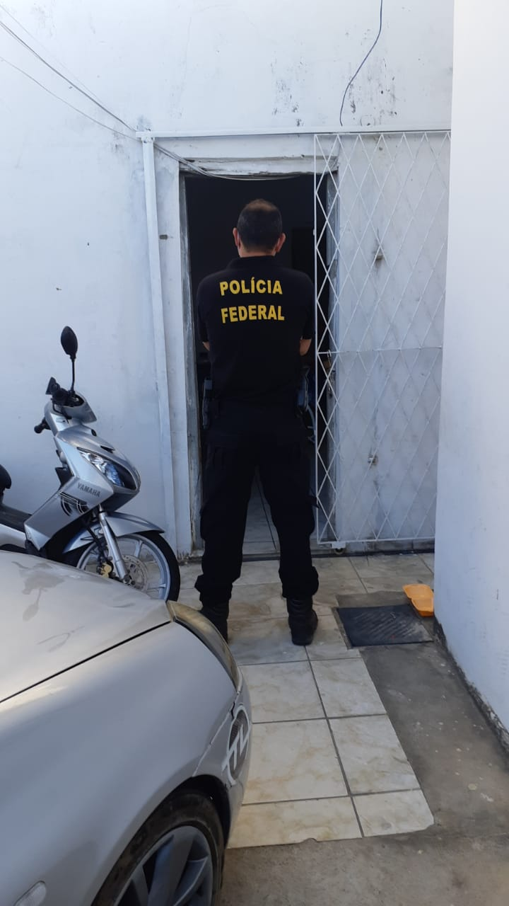 """Polícia Federal deflagra operação """"Livre Acesso"""" / Crédito: PF"""