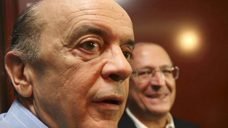 O senador José Serra e o ex-governador Geraldo Alckmin, ambos do PSDB paulista - Foto: Arquivo