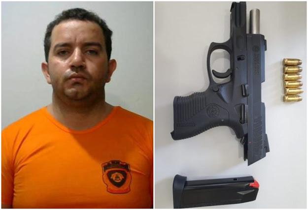Suspeito foi levado para presídio em São Luís