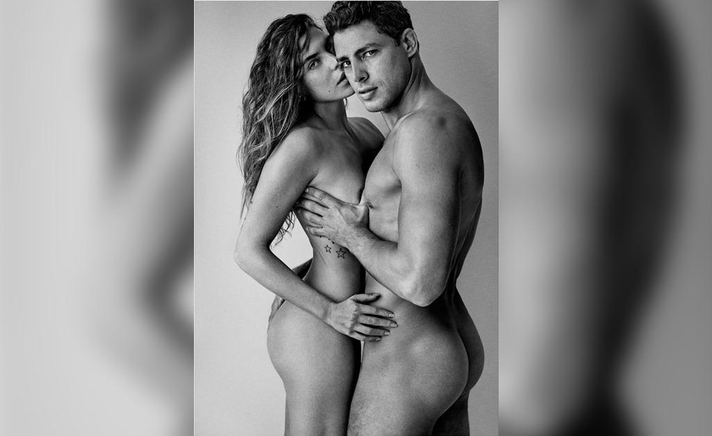 Cauã e Mariana posam nus - Foto: Mario Testino