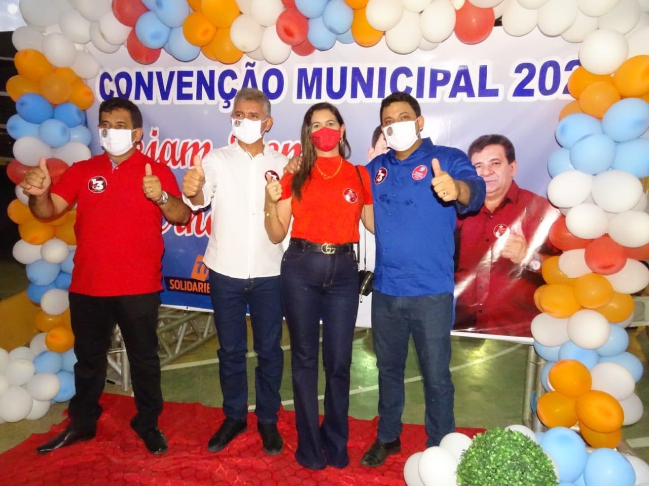 Em convenção histórica Zé Carlos Bandeira e Dr.Leonardo Tavares são homologados em Jatobá do Piauí - Imagem 4
