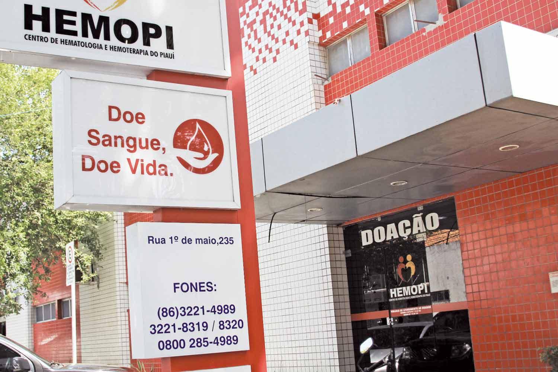Hemopi faz campanha para atrair doadores de medula óssea - Foto: José Alves Filho