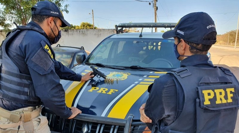 PRF prende traficante portando arma de fogo