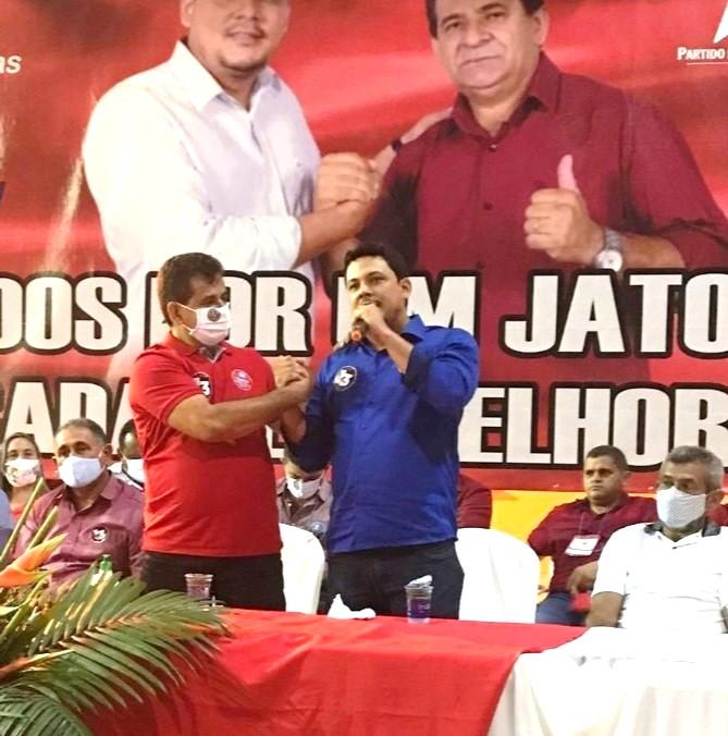 Em convenção histórica Zé Carlos Bandeira e Dr.Leonardo Tavares são homologados em Jatobá do Piauí - Imagem 11